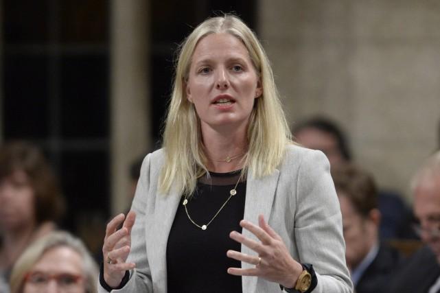 La ministre fédérale de l'Environnement, Catherine McKenna... (Adrian Wyld, La Presse Canadienne)