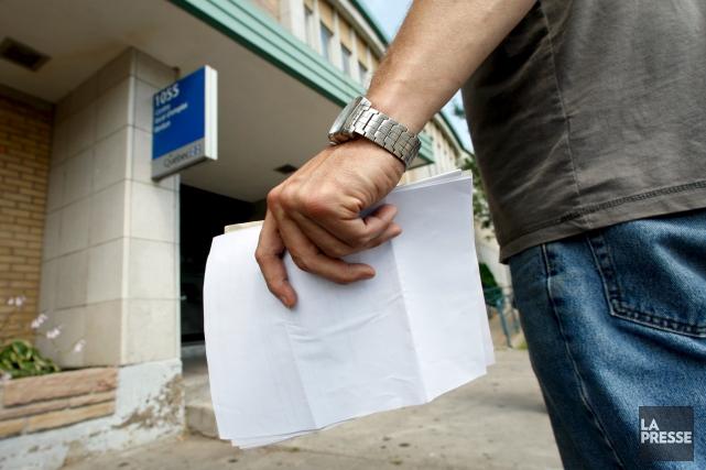 La Coalition estrienne de l'aide sociale s'indigne du fait que le gouvernement... (Archives, La Presse)