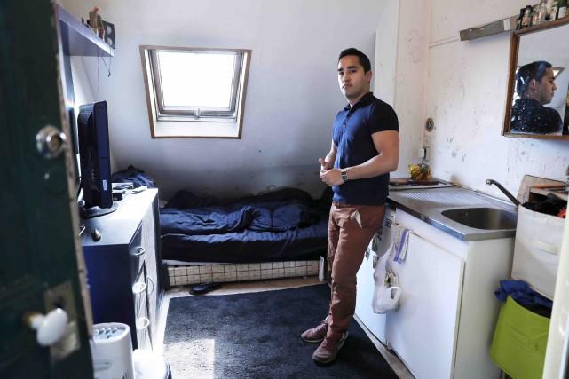 Ivan Lopez habite un appartement faisant moins de... (AFP)