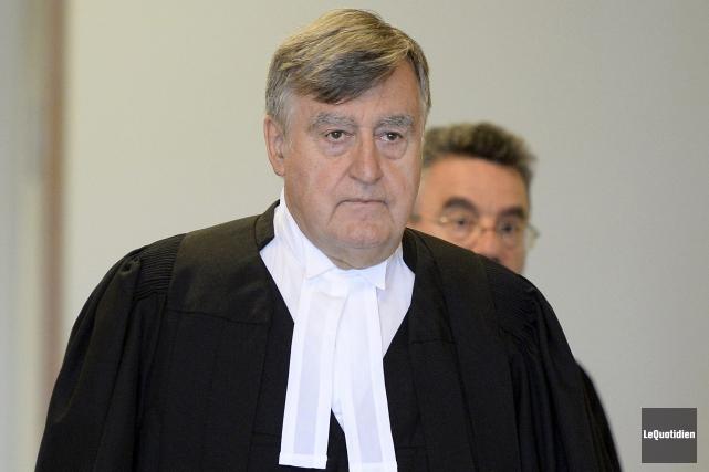 Me Lucien Bouchard fera valoir son argumentaire sur... (Photo Le Quotidien, Jeannot Lévesque)