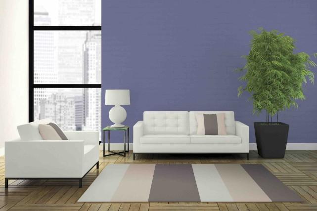 Ce violet est une couleur polyvalente. Agencée à... (Fournie par Dulux)