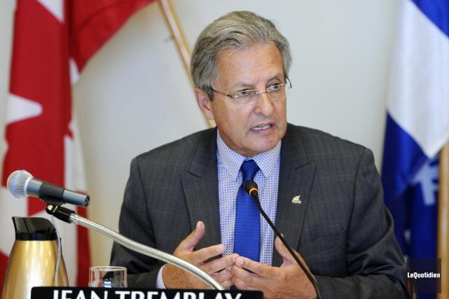 Le maire de Saguenay, Jean Tremblay.... (Archives Le Quotidien, Mariane L. St-Gelais)
