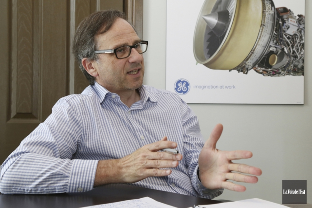 Le directeur général de la SODEB, Charles Lambert... (archives La Voix de l'Est)