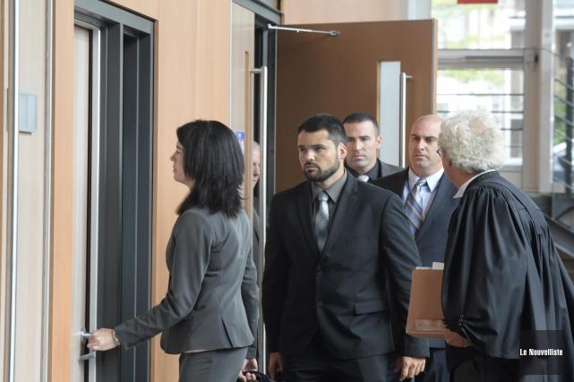 Le procès de Barbara Provencher, Marc-André St-Amant, Dominic... (Sylvain Mayer, Le Nouvelliste)