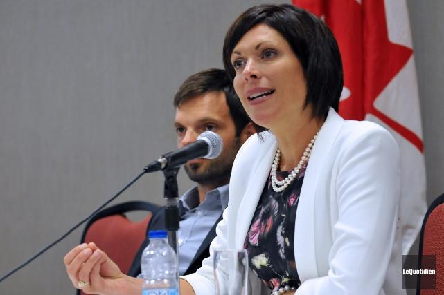 La députée néo-démocrate dans Jonquière, Karine Trudel.... (Archives Le Quotidien, Rocket Lavoie)