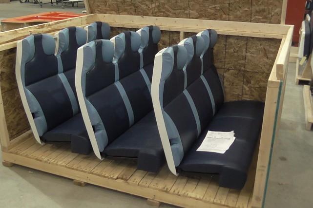 Khrome a confirmé la livraison des sièges qui... (Photo fournie)
