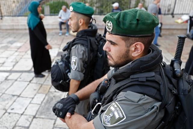 La police et l'armée israéliennes ont affirmé que... (AFP)