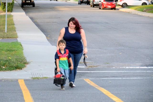 Maude Roy, une jeune maman de Drummondville, a... (Photo collaboration spéciale Éric Beaupré)
