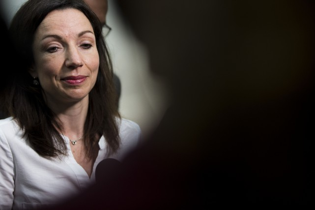 Martine Ouellet... (Photo Olivier Jean, archives La Presse)