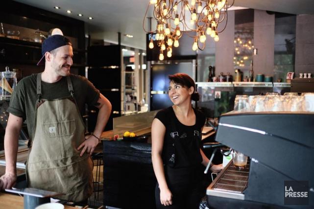B Montréal est àla fois uncafé, un comptoir... (PHOTO MARTIN CHAMBERLAND, LA PRESSE)