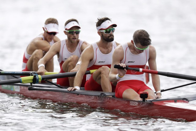 Le Canada n'a remporté qu'une seule médaille en... (Luca Bruno, Archives La Presse canadienne)