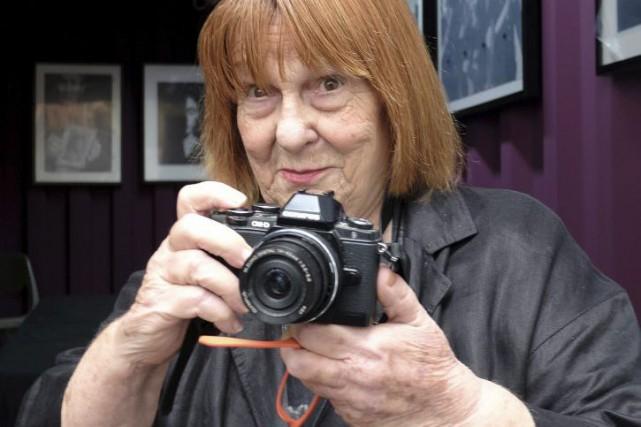 Letizia Battaglia, l'une des premières photojournalistes femmes d'Italie, a... (PHOTO AFP)