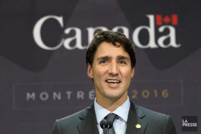 Justin Trudeau... (Photo La Presse Robert Skinner)