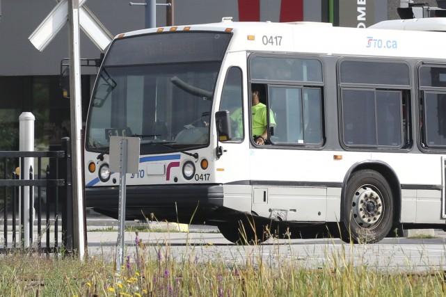 Les chauffeurs de la Société de transport de... (Patrick Woodbury, LeDroit)