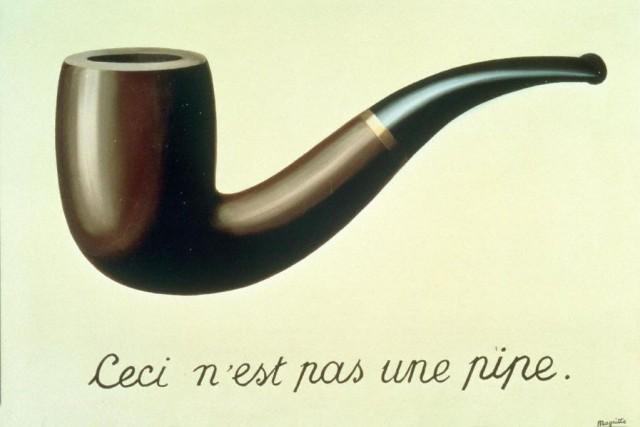RenéMagritte, La trahison des images (Ceci n'est pas... (IMAGE FOURNIE PAR LE CENTRE POMPIDOU)
