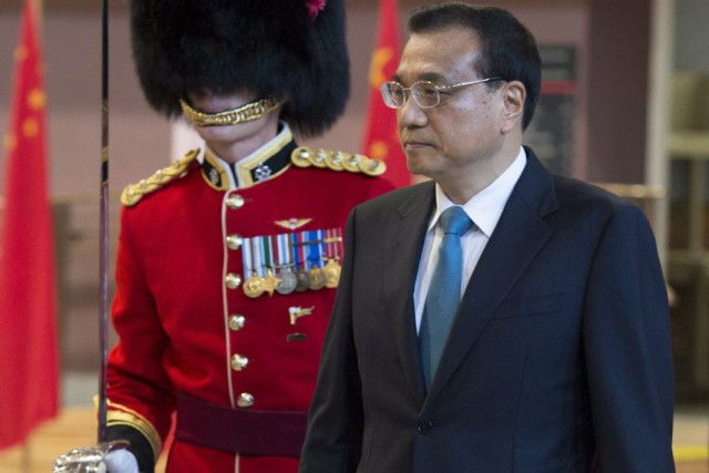 Li Keqiang... (Photo Adrian Wyld, La Presse Canadienne)