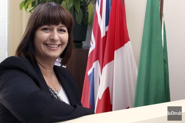 La ministre des Affaires francophones de l'Ontario, Marie-France... (Patrick Woodbury, Archives Le Droit)