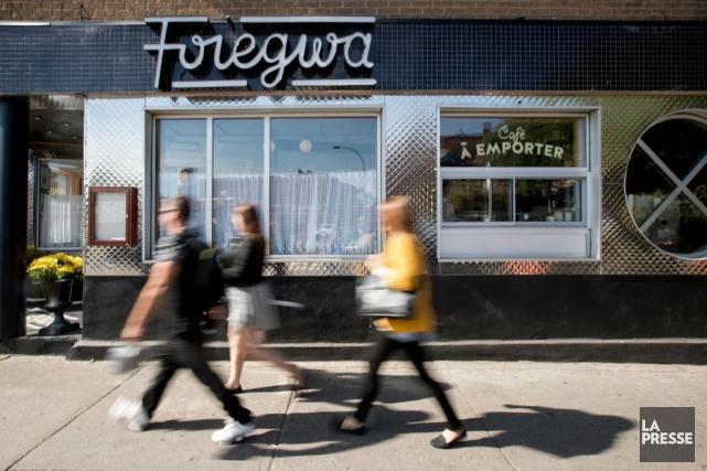 Ouvert en juillet, le Foiegwa est le dernier... (PHOTO MARCO CAMPANOZZI, LA PRESSE)