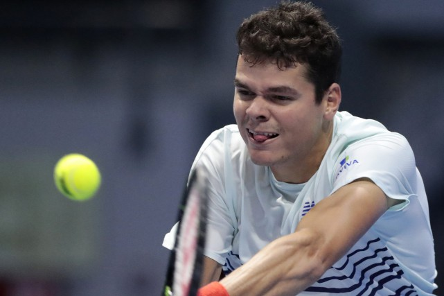 Milos Raonic... (Photo Dmitri Lovetsky, AP)