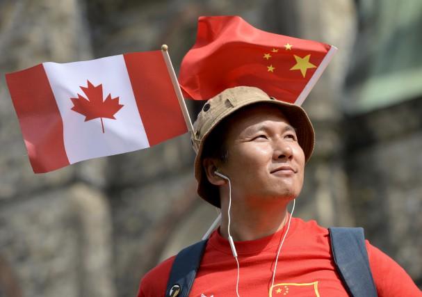La visite du premier ministre de la Chine... (La presse CANADIENNE)