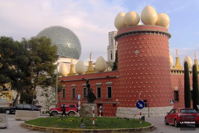 Le Théâtre-musée Dali, à Figueras en Espagne, a... (La Tribune, Jonathan Custeau)