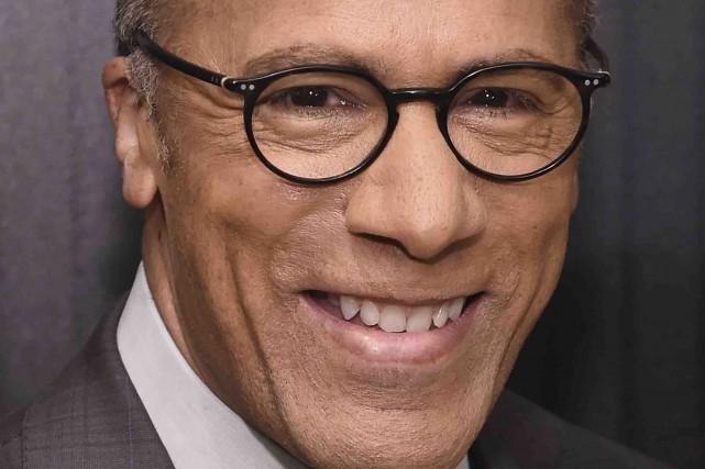 Lester Holt sera le modérateur du premier débat... (AFP, Ilya S. Savenok)