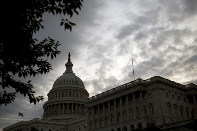 Les responsables américains n'ont pas directement pointé du... (Photo Andrew Harrer, archives Bloomberg)