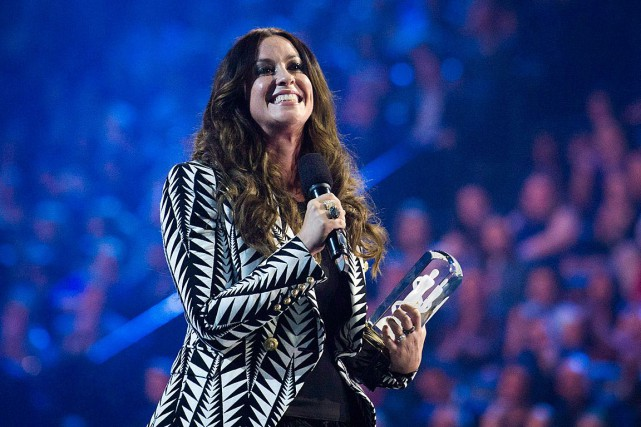 L'album Jagged Little Pill, d'Alanis Morissette, se retrouve... (Nathan Denette, Archives La Presse canadienne)