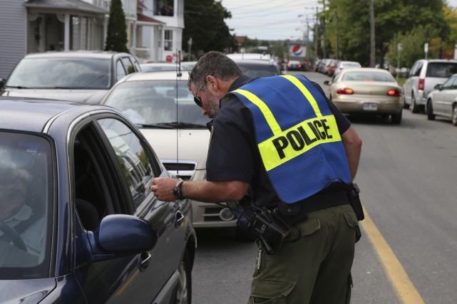 Les policiers surveilleront de près les automobilistes du...