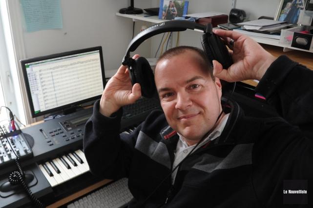 Le musicien trifluvien Pierre Peterson veut susciter une... (Sylvain Mayer, Le Nouvelliste)