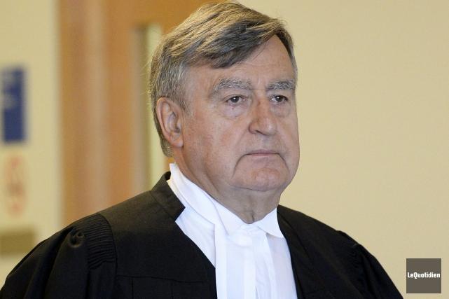 Me Lucien Bouchard croit que le tribunal doit... (Photo Le Quotidien, Jeannot Lévesque)