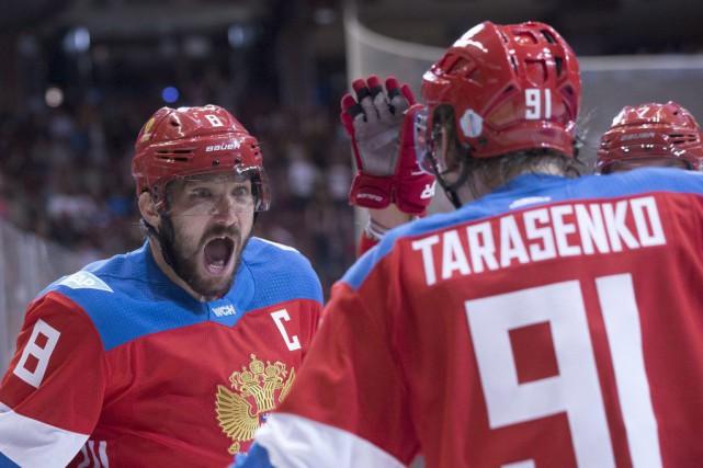 L'attaque russe, avec des joueurs comme Alex Ovechkin... (Chris Young, La Presse canadienne)