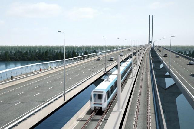 Le Réseau électrique métropolitain est un mégaprojet de... (CDPQ Infra)