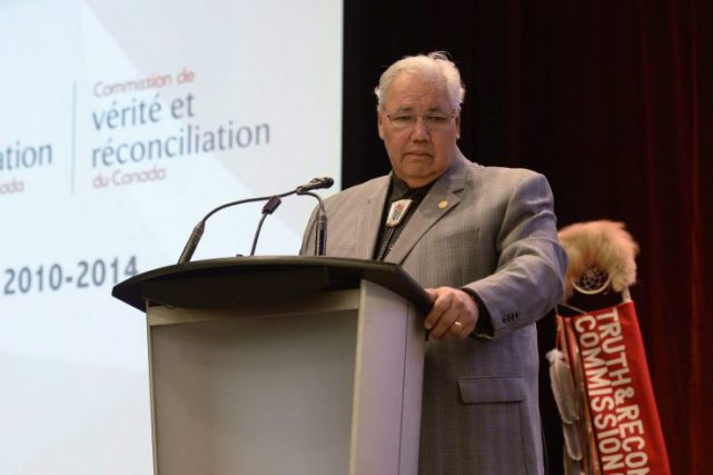 Murray Sinclair a été le premier Autochtone nommé juge... (PHOTO ADRIAN WYLD, ARCHIVES LA PRESSE CANADIENNE)