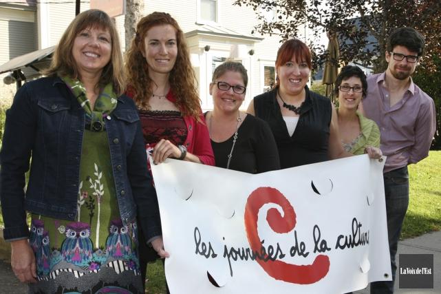 Bromont, Claudine Filion-Dufresne, agente de développement culturel pour... (Alain Dion, La Voix de l'Est)