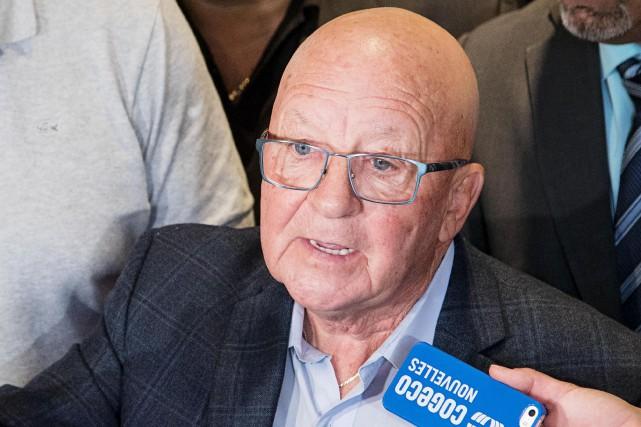 «Je suis extrêmement déçu comme porte-parole, parce qu'il... (Archives, La Presse)