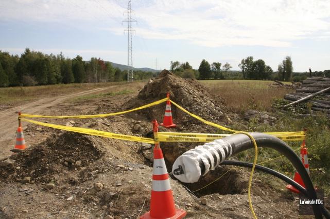 Hydro-Québec prévoit installer un nouveau système de balises... (Alain Dion, La Voix de l'Est)