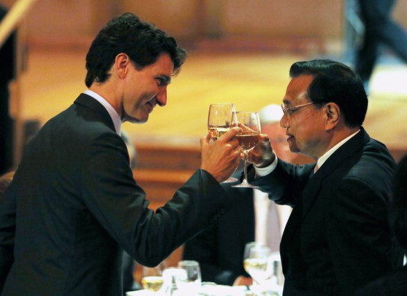 Le premier ministre du Canada, Justin Trudeau, et... (Fred Chartrand, La Presse canadienne)