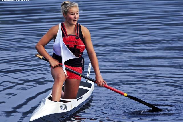 Sophia Jensen se souviendra longtemps de l'été de ses 14 ans. (Courtoisie, Gary Duncan)