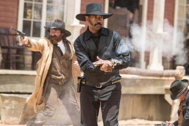 Denzel Washington incarne Sam Chisolm, un chasseur de... (Fournie par Columbia)