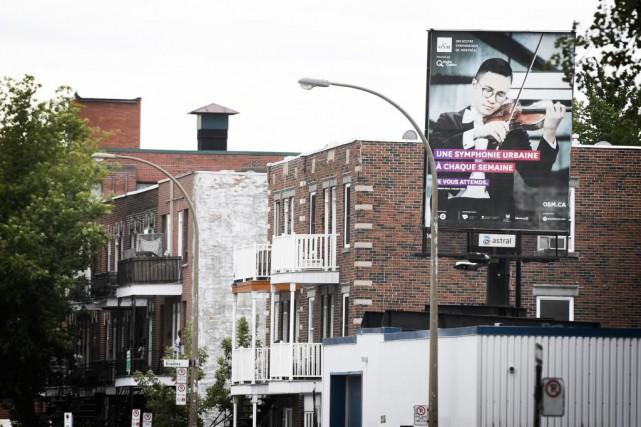 Hier, l'administration locale contrôlée par Projet Montréal a... (Photo Bernard Brault, La Presse)