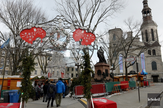 Cette année, le Marché de Noël organisé par... (Photothèque Le Soleil, Erick Labbé)
