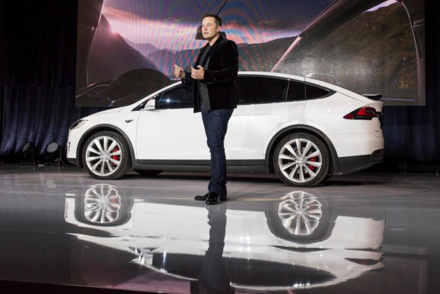 Selon le grand patron de Tesla, Elon Musk... (photo David Paul Morris, archives bloomberg)
