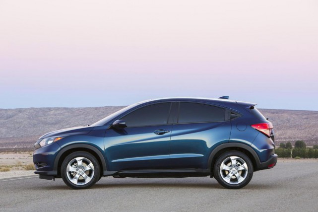 Le Honda HR-V 2016... (Photo fournie par le constructeur)