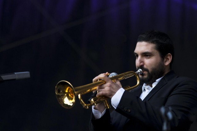 Ibrahim Maalouf sera à la Maison symphonique, vendredi,... (PHOTO KENZO TRIBOUILLARD, ARCHIVES AGENCE FRANCE-PRESSE)