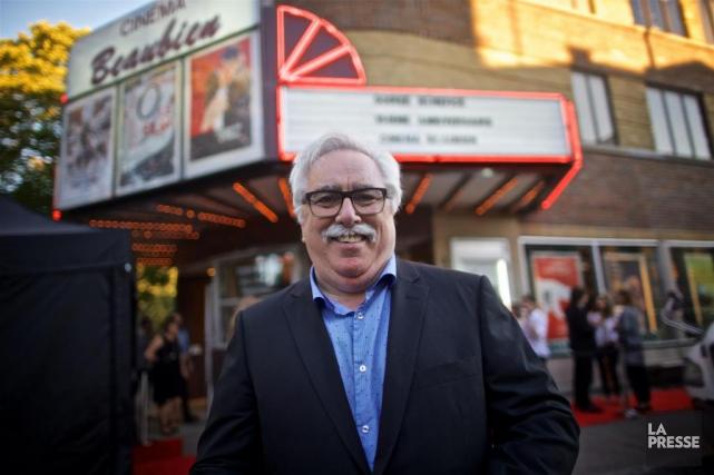 Le directeur général du Cinéma Beaubien, Mario Fortin.... (PHOTO ANDRÉ PICHETTE, La Presse)