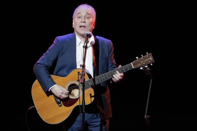 Paul Simon en spectacle au Global Citizen Festival... (PHOTO AP)