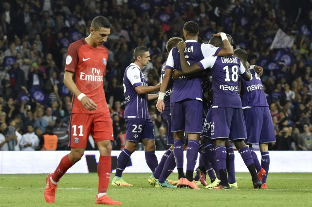 Face à Toulouse, le PSG a subi sa... (photo PASCAL PAVANI, AFP)