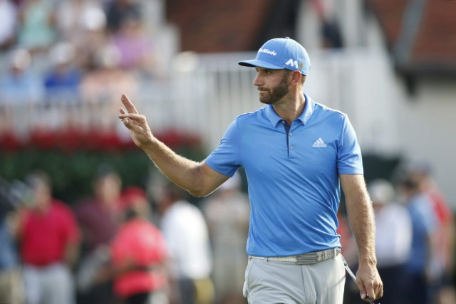 Dustin Johnson... (Brett Davis, USA TODAY Sports)