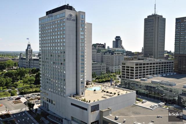 Au total, 25 hôtels dans lesquels la CSN... (Photothèque Le Soleil, Patrice Laroche)